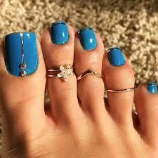 Turquoise Toe Nail Designs Toenails And Pedicure Trending Design Ideas Toe Nails