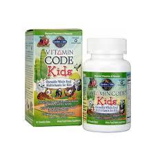 garden of life vitamin code kids 60 chewable bears