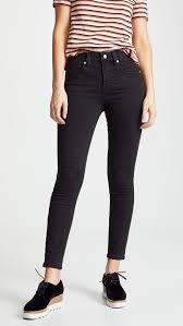 Madewell - High Rise Skinny Jeans | Madewell high rise skinny jeans, High  rise skinny jeans, Skinny jeans
