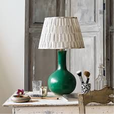 green table lamp by pooky lighting