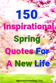 Image of: New Year Inspirational Spring Quotes For New Lifemin We Heart It 150 Inspirational Spring Quotes For New Life Ageless Investing
