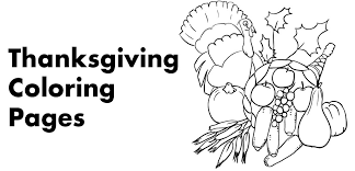 7 Free Thanksgiving Coloring Pages Holidappy