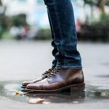 Thursday Boots New Vanguard Colors French Roast Cap Toe