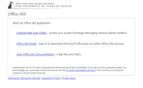 It Public Self Help The New Office 365 Login Portal