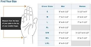 Nike Football Gloves Size Chart Images Gloves And