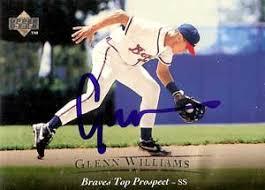 Glenn Williams Baseball Stats by Baseball Almanac - glenn_williams_autograph