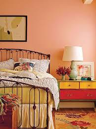Coral Color Bedroom Ideas 3
