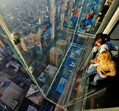 the ledge at skydeck chicago hiconsumption chicago building glass floor s