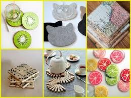 30 Creative DIY Coasters Ideas - Easy Gift Ideas