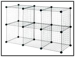 grid cube wire storage cube wire storage cubes connectors mesh cube locker grid wire modular shelving