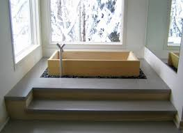 japanese bathroom design. minimalist soaking tub japanese bathroom designs design