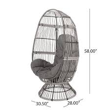 outdoor wicker lounge chair outdoor
