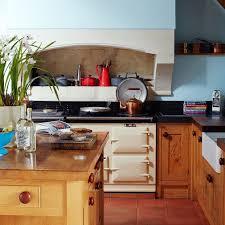 25bh nov 17 p111 blue country kitchen with cream aga