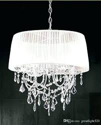 crystal lamp shade chandelier shabby chic shades burlap diy lamp shade chandelier clip on shades