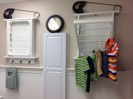 a Ladder Laundry Rack!