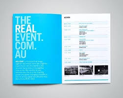 The Real Event Ideas Design Adobe Indesign Program Template