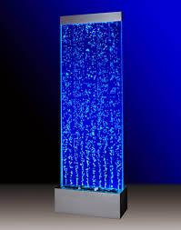 blue led bubble wand garden fountain mini wall fish aquarium indoor wall fountains canada how to build