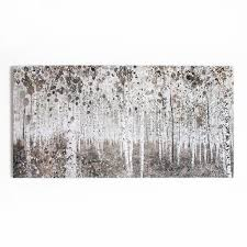 on canvas wall art large uk with neutral watercolour woods printed canvas grahambrownus