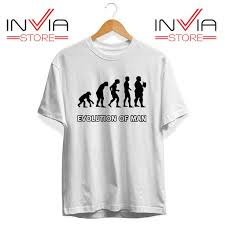 Evolution Of Man Chart Best Tshirt Evolution Man Beer Custom Tee Shirt Size S 3xl