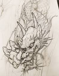 каталог эскизов тату с драконами идеи для разработки