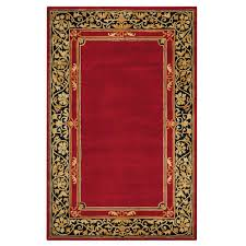 Small Picture Home Decorators Collection Churchill Red 8 ft x 11 ft Area Rug