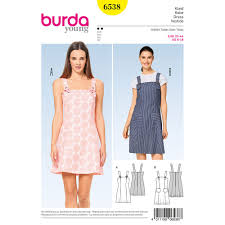 Dress Sewing Patterns Inspiration Misses Strappy Dress Burda Sewing Pattern 48 Sew Essential