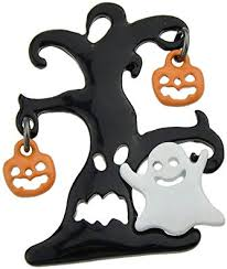 Feelontop Fancy Design <b>Halloween</b> Ghost Tree <b>Pumpkin Shaped</b> ...