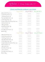 Beautiful P90X Worksheets Beautiful Piyo Cize Hybrid Google Search ...