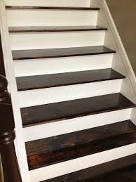 Painted Wood Stairs Remodelaholic 60 Carpet To Hardwood Stair Remodel