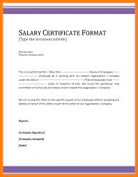 Employment Certificate With Compensation Hola Braggs Co