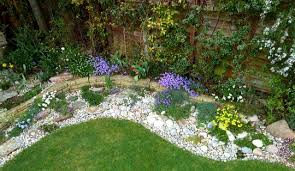 Small Picture Pebble Garden Ideas Great Atlantic Pebbles And Cobbles With Plum