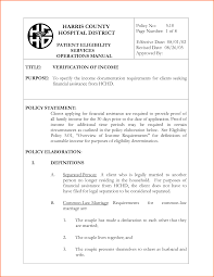 6 Proof Of Income Letter Self Employed Budget Template Letter