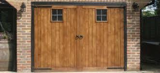 image of timber garage doors direct