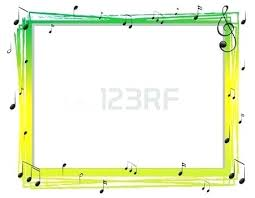 Music Stave Template Blank Note Paper Page Vector Notes Cmdone Co