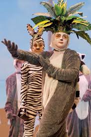 Ava Weber, right, as King Julien XIII of... - The Ironton Tribune | Facebook