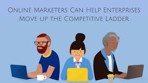 Move Up The Ladder How Experienced And Expert Online Marketers Can Help