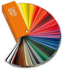 Ral Color Chart Amazon Ral K5 Gloss Colour Fan Deck