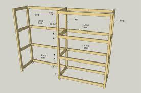 storage shelf plans. Fine Storage Add The Long Rails To Storage Shelf Plans