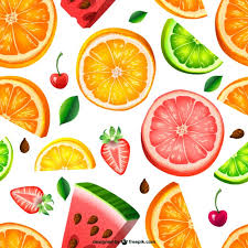 Fruit Pattern Magnificent Seamless Fruit Pattern Vector Free Download