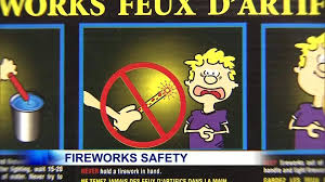 fire works safety video fireworks safety tips