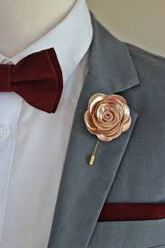 rose gold flower lapel pin bow tie rose gold wedding boutonniere cooper lapel flower pin rose gold boutonniere flower lapel pin mens gift