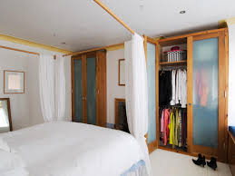 image of using curtains for closet doors pictures