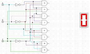 logic diagram 7 segment display the wiring diagram logic gates 7 segment display decoder electrical wiring diagram