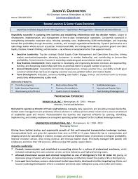 Good Transportation Operations Manager Resume Sample Clinical