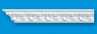 Купить <b>Плинтус потолочный инжекционный</b> 3, 2х3, 2х130 см ...