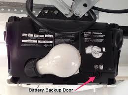 garage door batteryGarage Door Opener Beeping Replace the Backup Battery