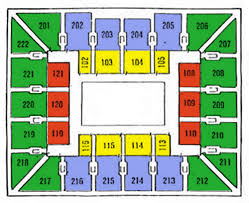 The Palestra Seating Chart The Palestra Seating Chart Ticket Solutions
