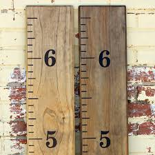 Ruler Growth Chart Vinyl Decal Diy Vinyl Growth Chart Ruler Decal Kit Amazon In Toys Games