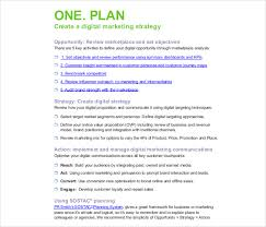 12 Digital Marketing Strategy Templates Word Apple Pages