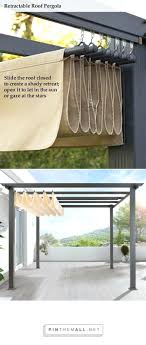 sliding door sun blocker outdoor patio sun blockers patio sun blocking ideas diy pergola retractable roof shade slide the roof closed to create a shady